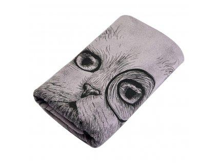 """Bavlněný ručník """"Kočka"""""""