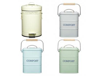 4 kompostéry na domácí biodpad Kitchen Craft