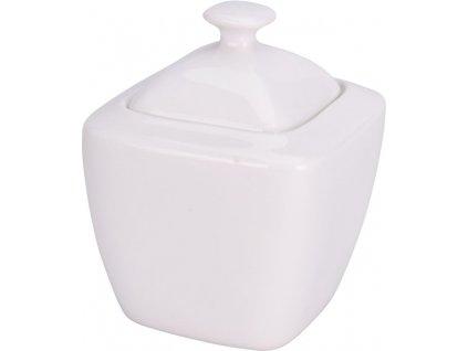 Porcelánová cukřenka bílá