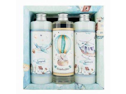 Bohemia Gifts Dárkový kosmetický balíček XL - pro kluky