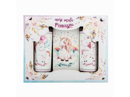 Bohemia Gifts Dárkový kosmetický balíček pro holky - princezna