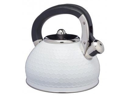 Kitchen Craft - Konvice Lovello bílá  /23*21*23/ - Objem 2,5 l.