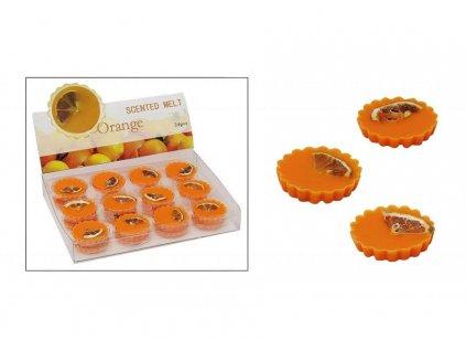 Vonný vosk do aromalampy s vůní pomeranče