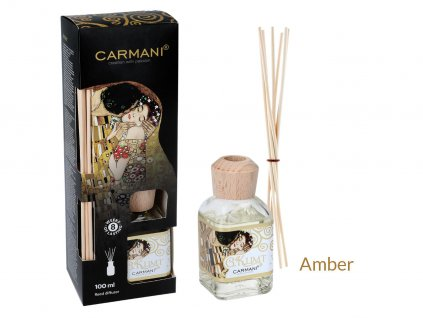 Carmani - Designový difuzér G. Klimt Amber - 100 ml