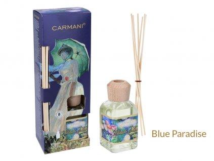 Carmani - Designový difuzér C. Monet - Modrý ráj - 100 ml