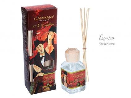 Designový difuzér A. Modigliani - emoce Opio Negro - 100 ml
