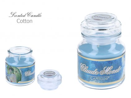C. Monet - Vonná svíčka ve skle Cotton