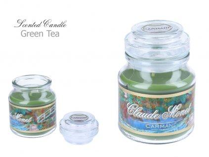 C. Monet - Vonná svíčka ve skle Green Tea