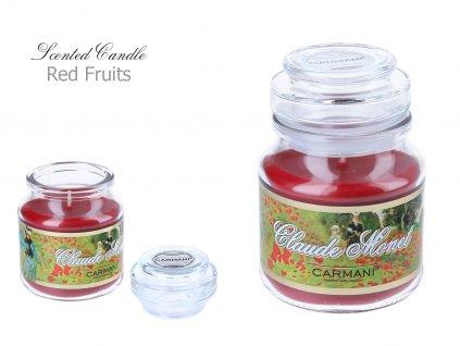 C. Monet - Vonná svíčka ve skle Red Fruit