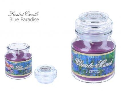 C. Monet - Vonná svíčka ve skle Blue Paradise