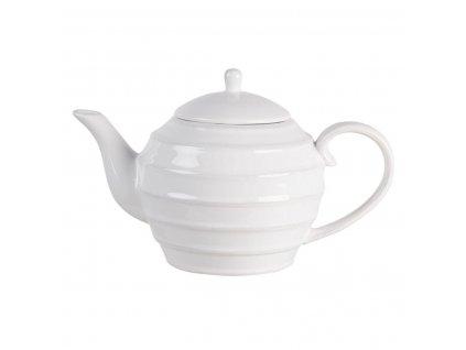 Clayre & Eef - Dolomitová konvička na čaj CREME - 1 litr
