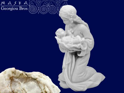 Figurka Panna Marie s děťátkem - 10 cm