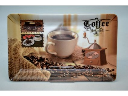 Melaminový tác COFFEE - 31*19,5*2,5 cm
