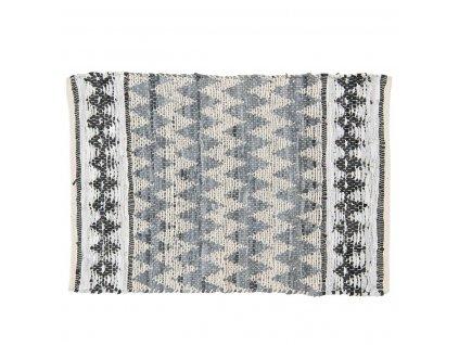Clayre & Eef - Bavlněný kobereček ZIGZAG - 60*90 cm
