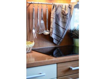 Kuchyňské utěrky z Egyptské bavlny CAPUCCINO
