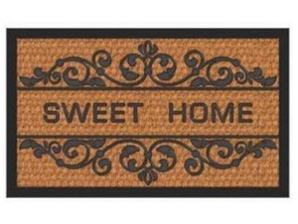"""Rohožka """"Sweet Home"""" guma+moř.tráva - 60*40 cm"""