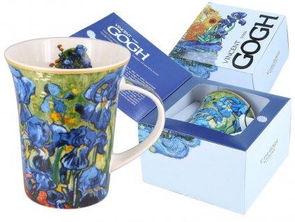 Porcelánový hrnek Van Gogh Irisy