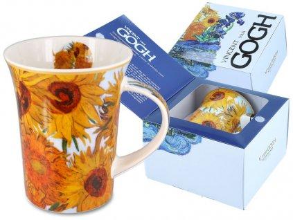 Porcelánový hrnek Van Gogh Slunečnice