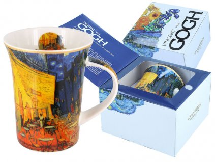 Porcelánový hrnek Van Gogh Terasa noční kavárny