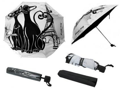 Skládací deštník Crazy kočky