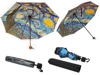 Skládací deštník V. van Gogh, Hvězdná noc