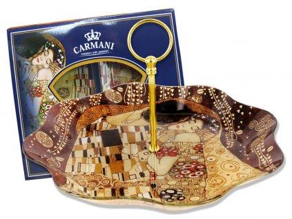Porcelánový tác G. Klimt