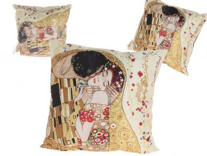 Polštář G. Klimt, The Kiss