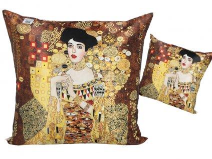 Polštář G. Klimt, Adele Bloch Bauer.