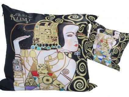 Polštář G. Klimt, Očekávání, Strom života.
