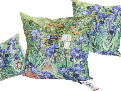 Polštář V. van Gogh, Irises...