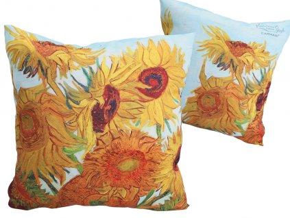 Polštář V. van Gogh, Slunečnice .