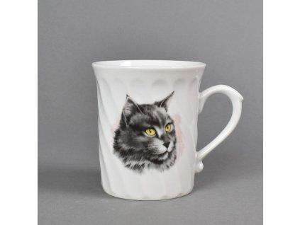Porcelánový hrnek Richmond kočka Laura