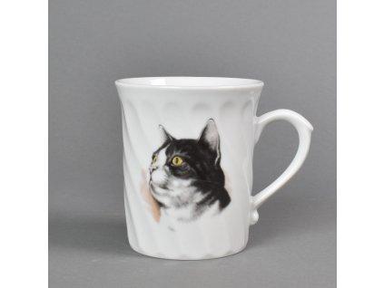 Porcelánový hrnek Richmond kočka Láska