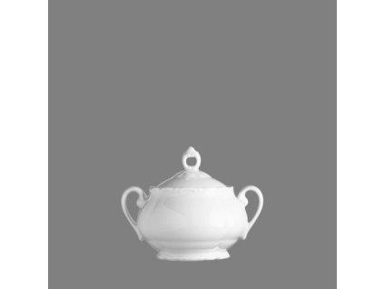Porcelánová cukřenka Verona bílá