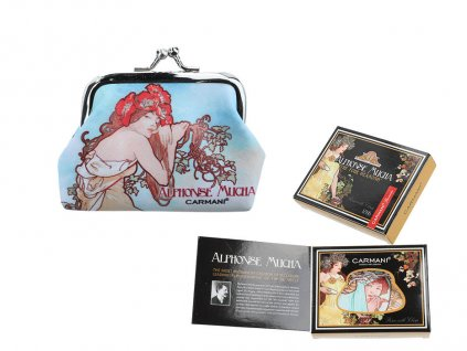 peněženka malá Alfons Mucha