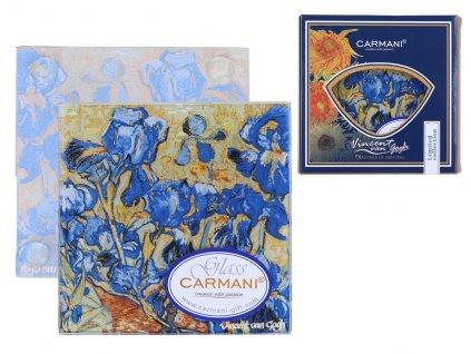 Skleněné prostírání pod skleničku Vincent van Gogh Kosatce
