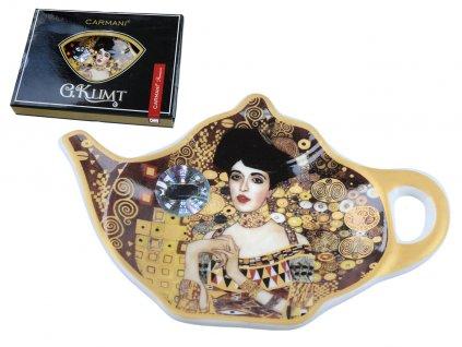 Podčajník G. Klimt Adele v dárkové krabičce