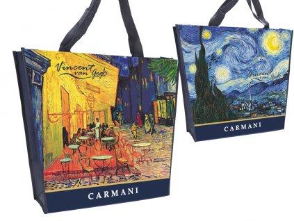 Carmani Nákupní taška Vincent van Gogh