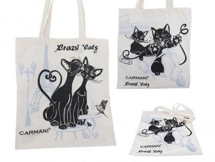 nákupní taška kočky