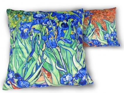 Polštář V. van Gogh KOSATCE