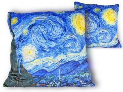 Polštář V. van Gogh HVĚZDNÁ NOC