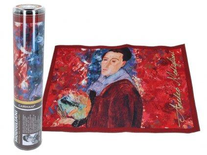 Prostírání A. Modigliani, Self-portrait
