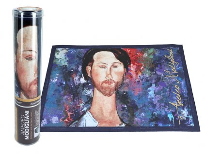 Prostírání A. Modigliani, Leopold Zborowski