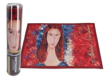 Prostírání A. Modigliani, Jeanne Hebuterne