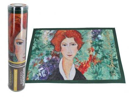 Prostírání A. Modigliani, Portrait of a woman