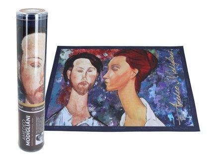 Prostírání A. Modigliani, Lunia Czechowska i Leopold Zborowski