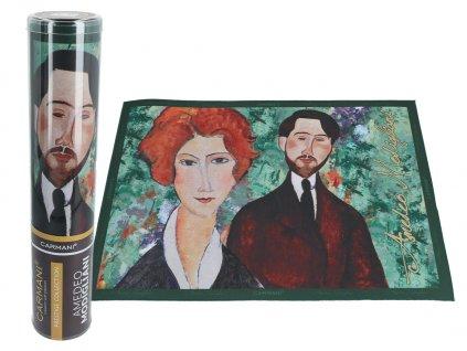 Prostírání A. Modigliani, Portrait of a woman, Leopold Zborowski