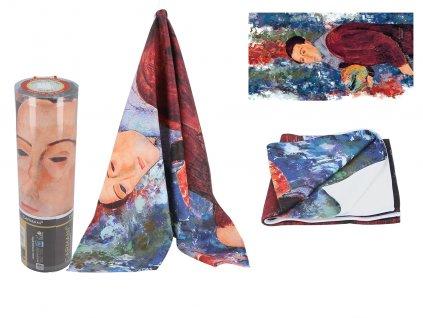 Ručník A. Modigliani, Self-portrait v dárkové krabičce