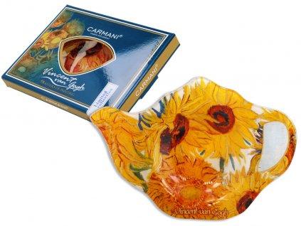 Podčajník V. van Gogh Slunečnice v dárkové krabičce