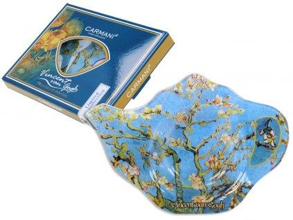 Podčajník V. van Gogh Kvetoucí mandle v dárkové krabičce